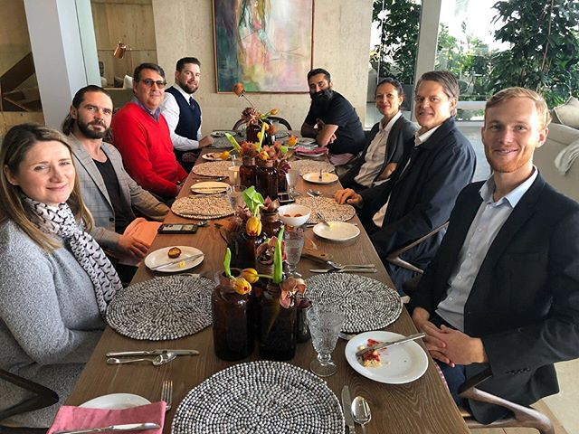 A delectable 5 course breakfast prepared by the talented @kirbyauret. Great company in @newfrontierstours @luxuryafrica @personal.africa and @traveldesigner, all bringing a fresh and like minded approach to experiential travel. Hosted proudly in partnership with @inresidencecpt. A good start to a Thursday we'd say! Thanks for joining us and we look forward to what the future has in store. 📸 @jamesalexandercarney