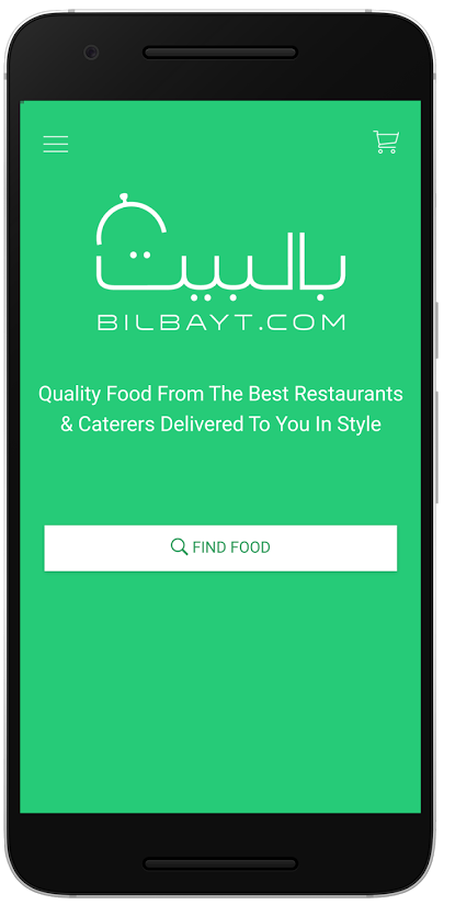Bilbayt.com - Food ordering app for Kuwait and the United Arabian Emirates