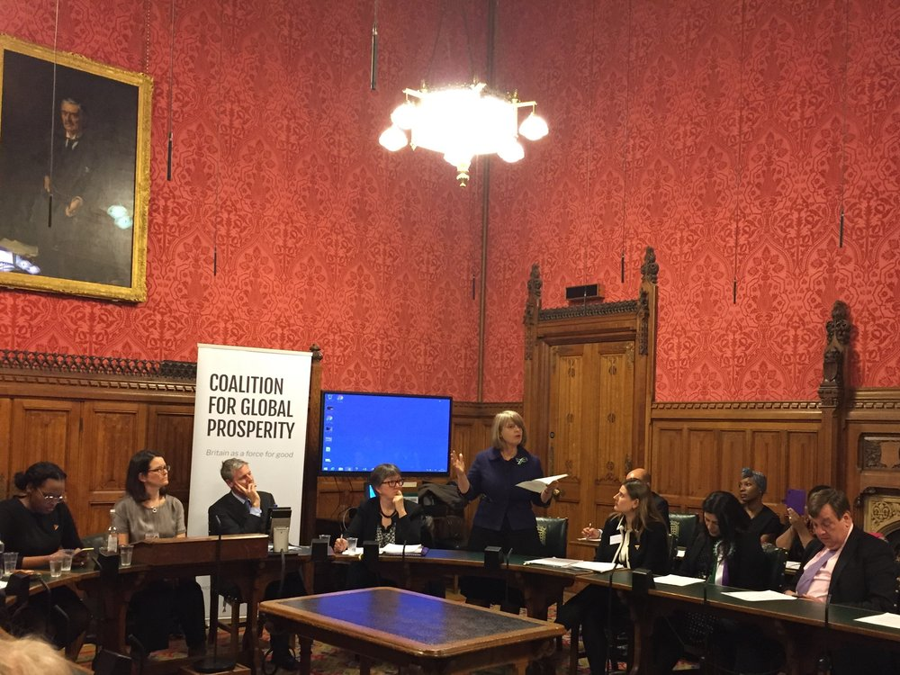 Harriet Baldwin MP, Minister of State for Africa at the Foreign and Commonwealth Office and Minister of State at the Department for International Development, opened the event