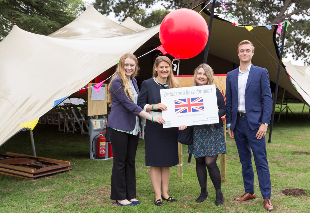 The Coalition for Global Prosperity Team at the Big Tent Ideas Festival