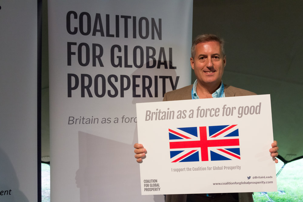 Lt Gen Phil Jones    supports Britain as a Force for Good
