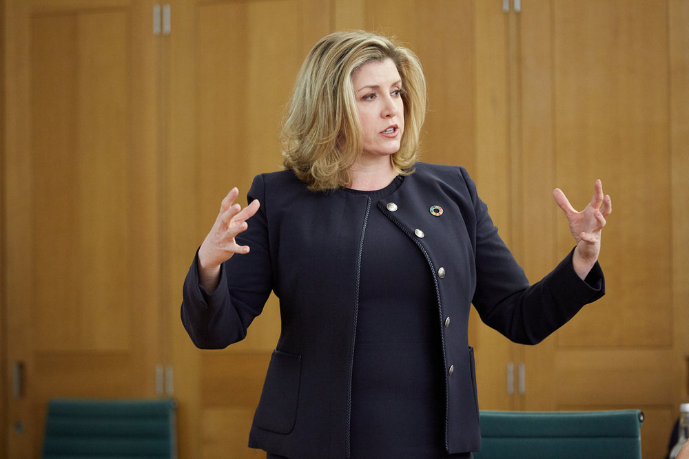 The Rt Hon Penny Mordaunt MP, Secretary of State for International Development