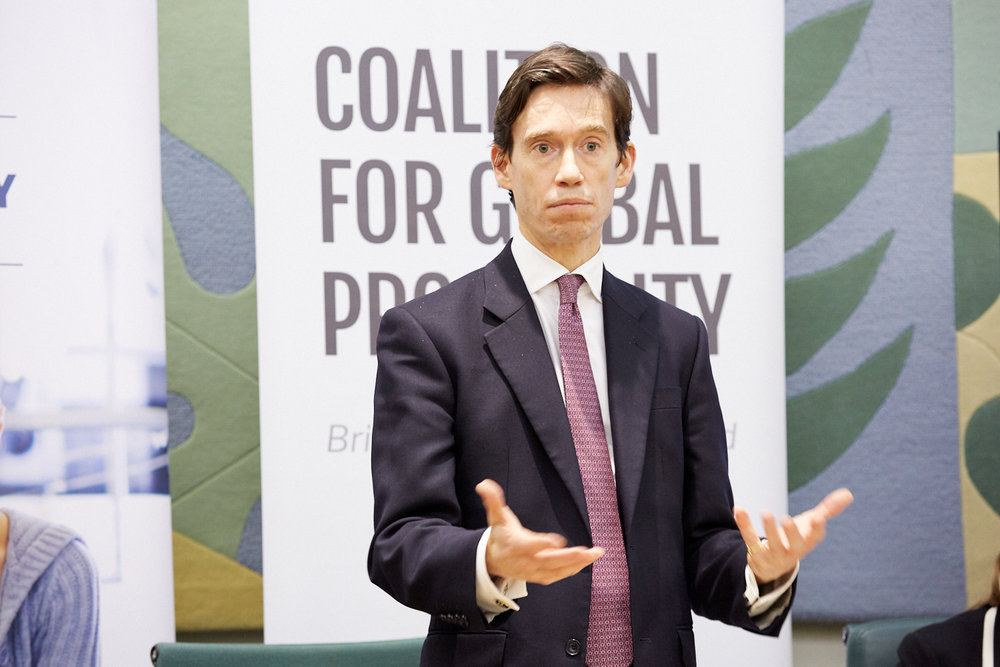 Rory Stewart MP, Minister of State for Justice