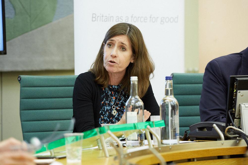 Kate Ewart-Biggs, British Council