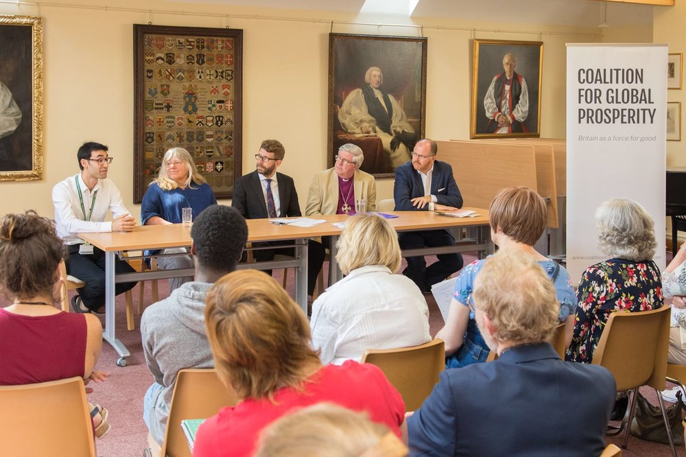 Speakers at 'Tackling the Refugee Crisis Why does Syria matter to Norfolk' - 1.JPG