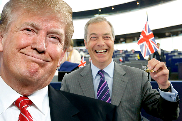 Donald Trump and Nigel Farage show how people are Brands