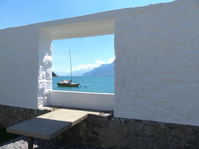 Vue depuis la Villa Le Corbusier à Corseaux
