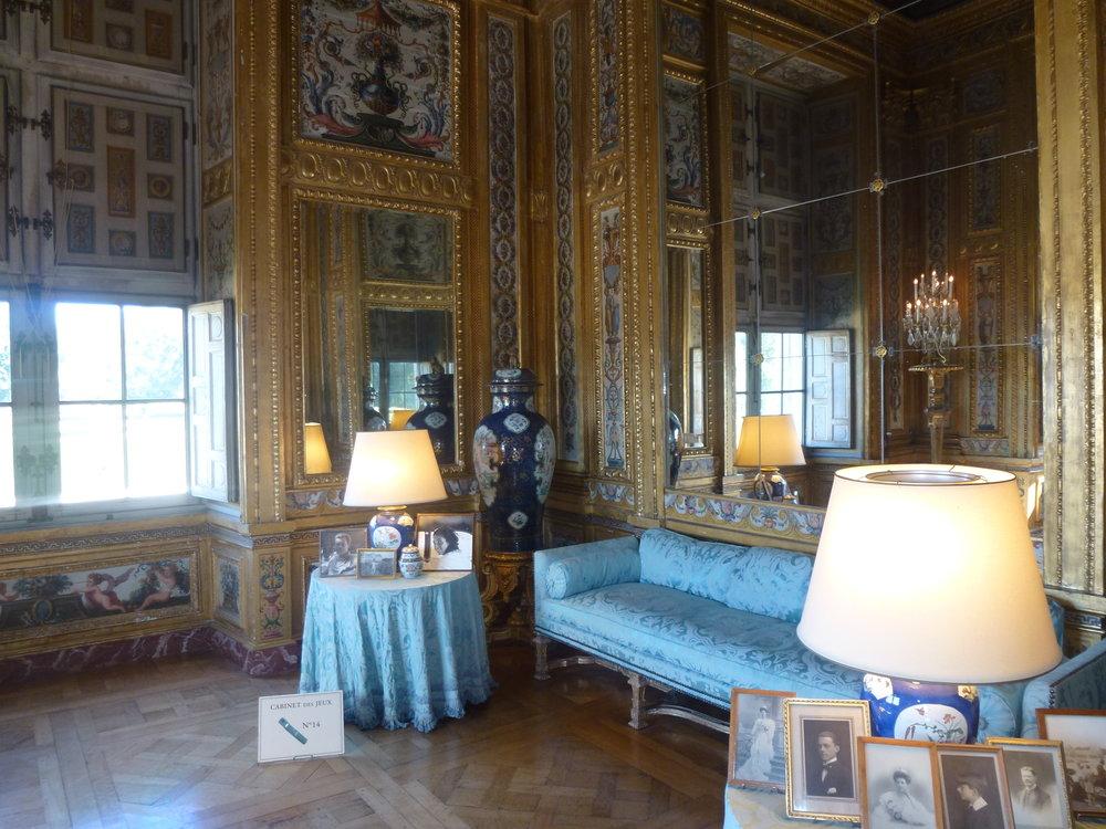 Intérieur du Château de Vaux-le-Vicomte