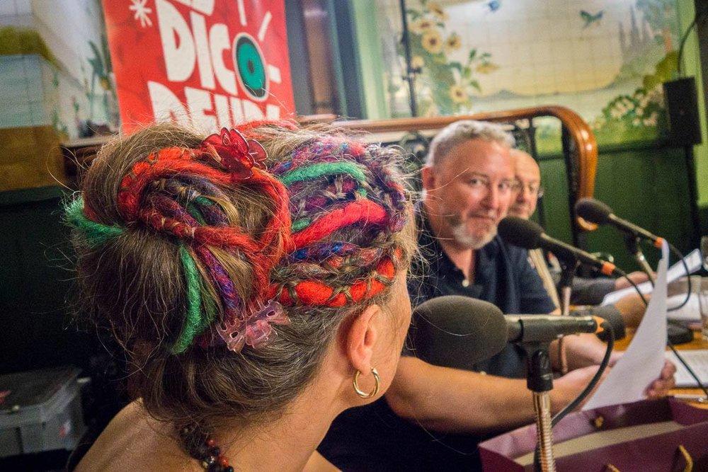 Interview Pierres entre Didier Gendraud et Julie Rieder