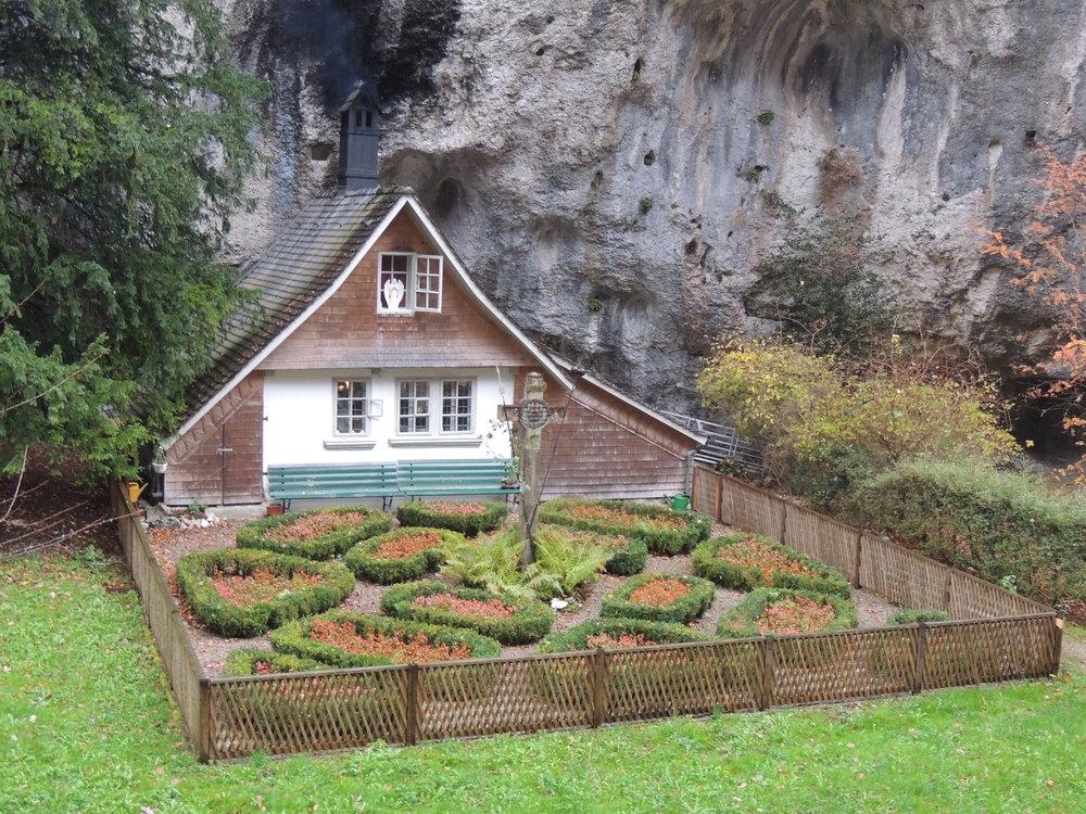 Maison occupée par l'ermite de Einsiedelei