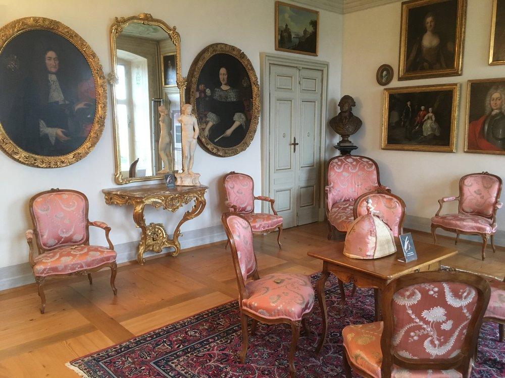 Salon du château