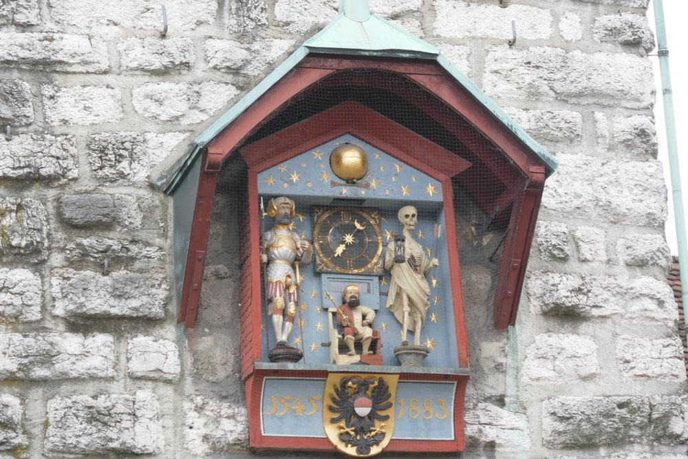 Le Chevalier, le Roi et la Mort de la Tour de l'Horloge