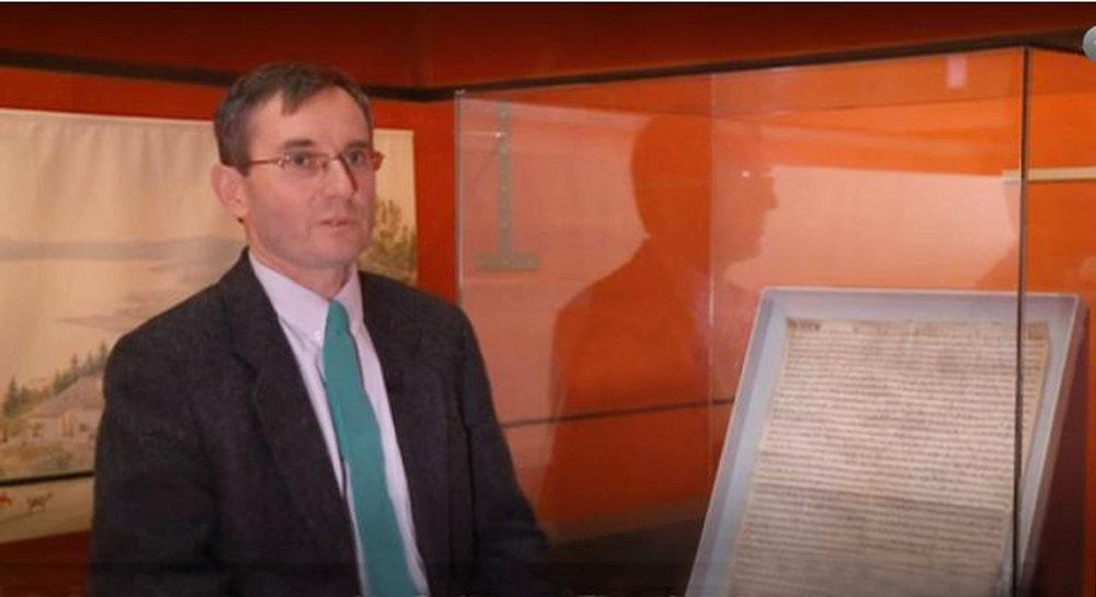 Olivier Girardbille, archiviste communal de la Ville de Neuchâtel