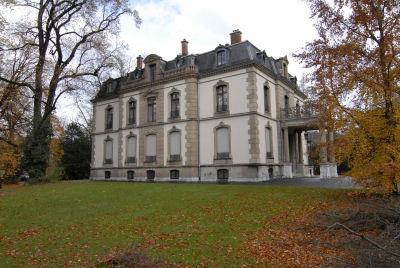La Villa Bühler, maison de maître aussi belle à l'extérieur qu'à l'intérieur, mérite à elle seule le déplacement !