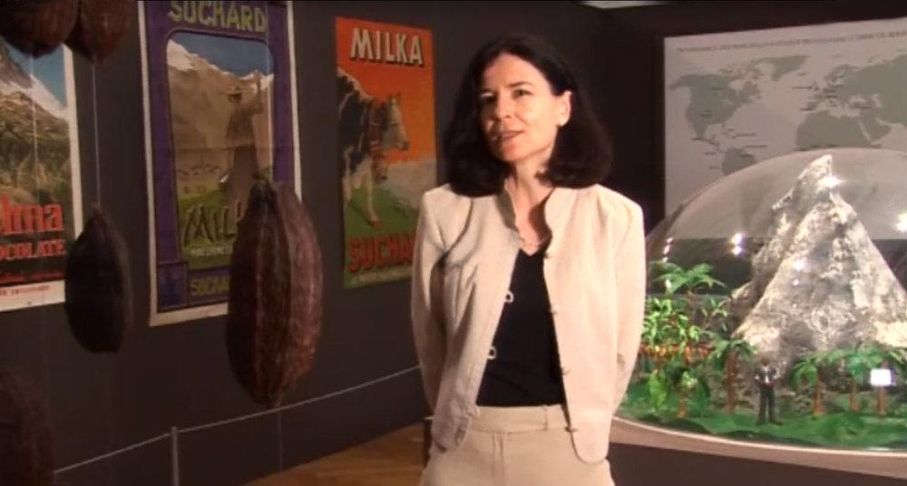 Chantal Lafontant Vallotton, conservatrice du département historique du MahN