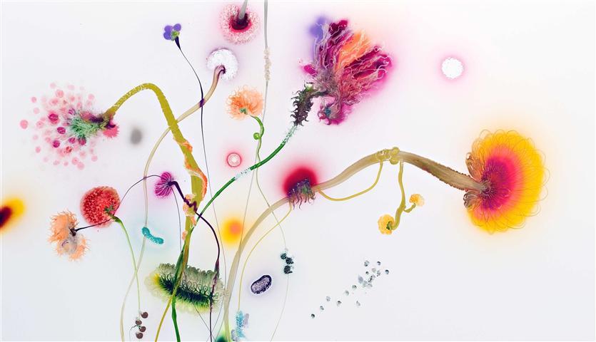 Une oeuvre de Thierry Feuz, artiste dont Francis Jeunet a acquis une oeuvre pour le MahN