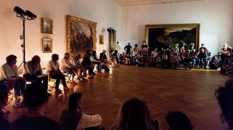 Eifo Efi, spectacle de danse par Ioannis Mandafounis et Fabrice Mazliah (Association Danse Neuchâtel ADN et Hiver de Danses)