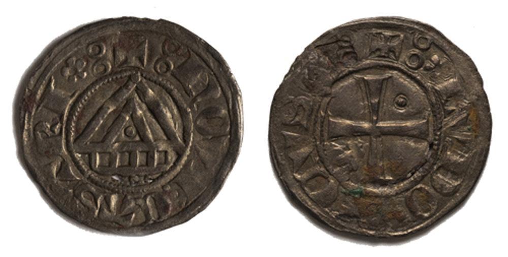 Médaille de Neuchâtel, du milieu du 14ème siècle, en argent.