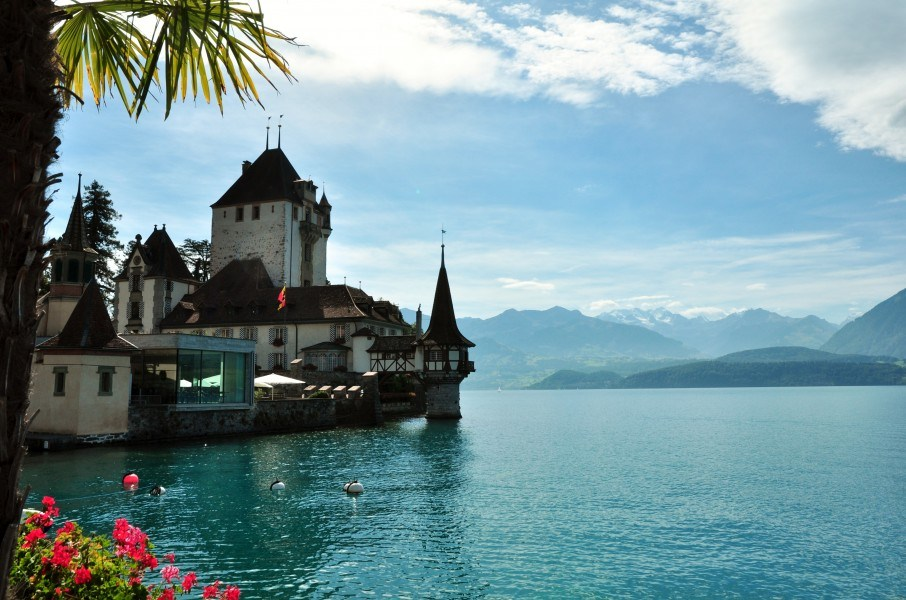 Château Oberhof, sur le Lac de Thoune