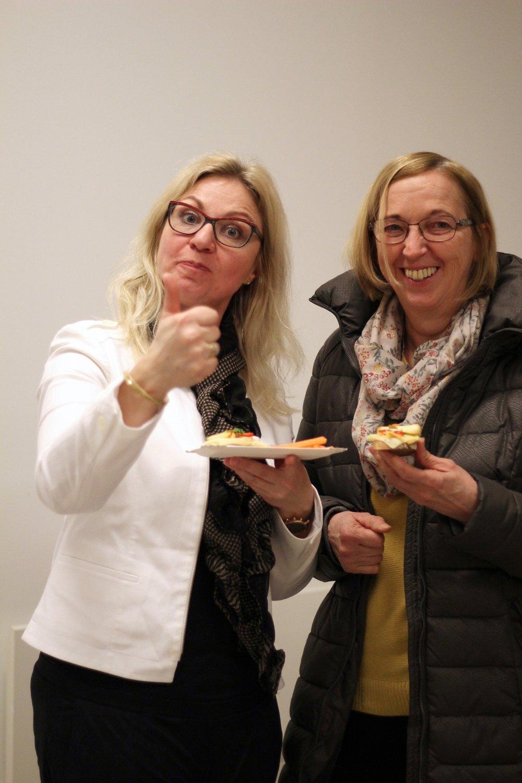 Mahlzeit! Doris Hiller-Baumgartner & Heidi Rath