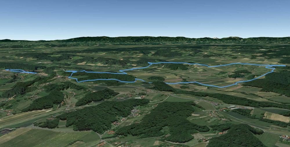 Lebenskraftweg 3D Ansicht 1
