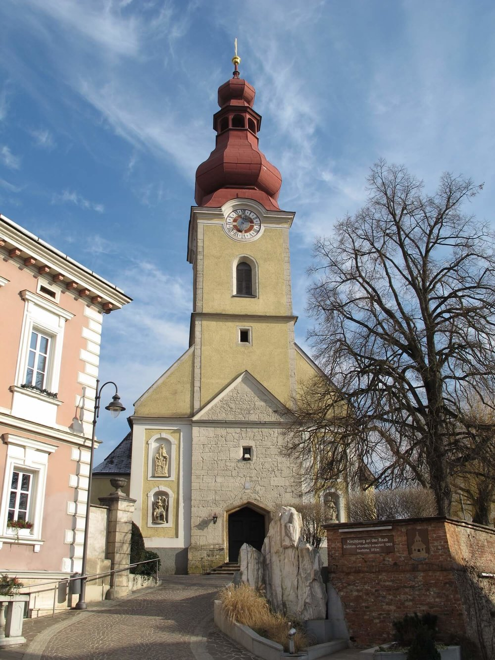 Pfarrkirche hl. Florian - Foto by Ueb-atCC BY-SA 3.0