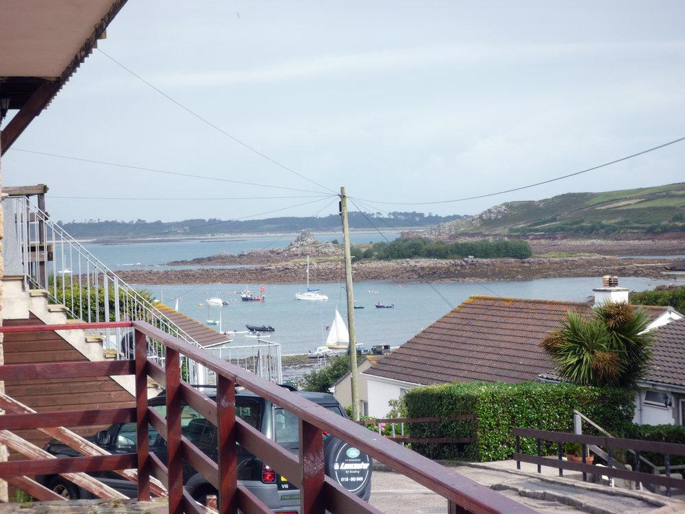 View over Porthmellon
