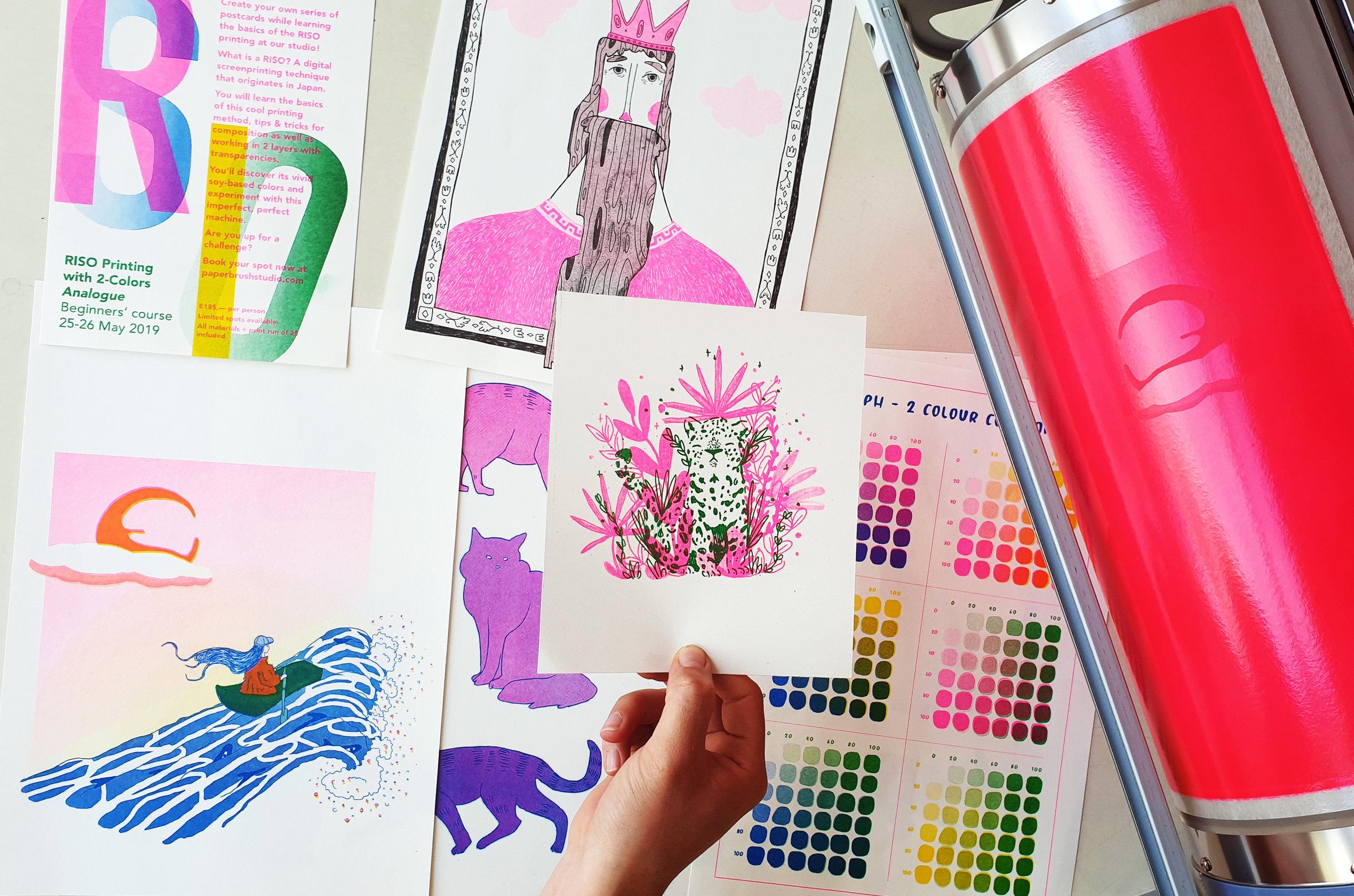 Workshops — Paper Brush Studio
