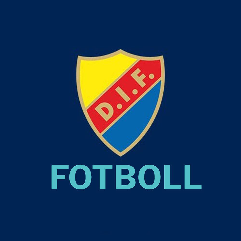 DIF fotboll    Matchtröja signerad av spelarna (2018)