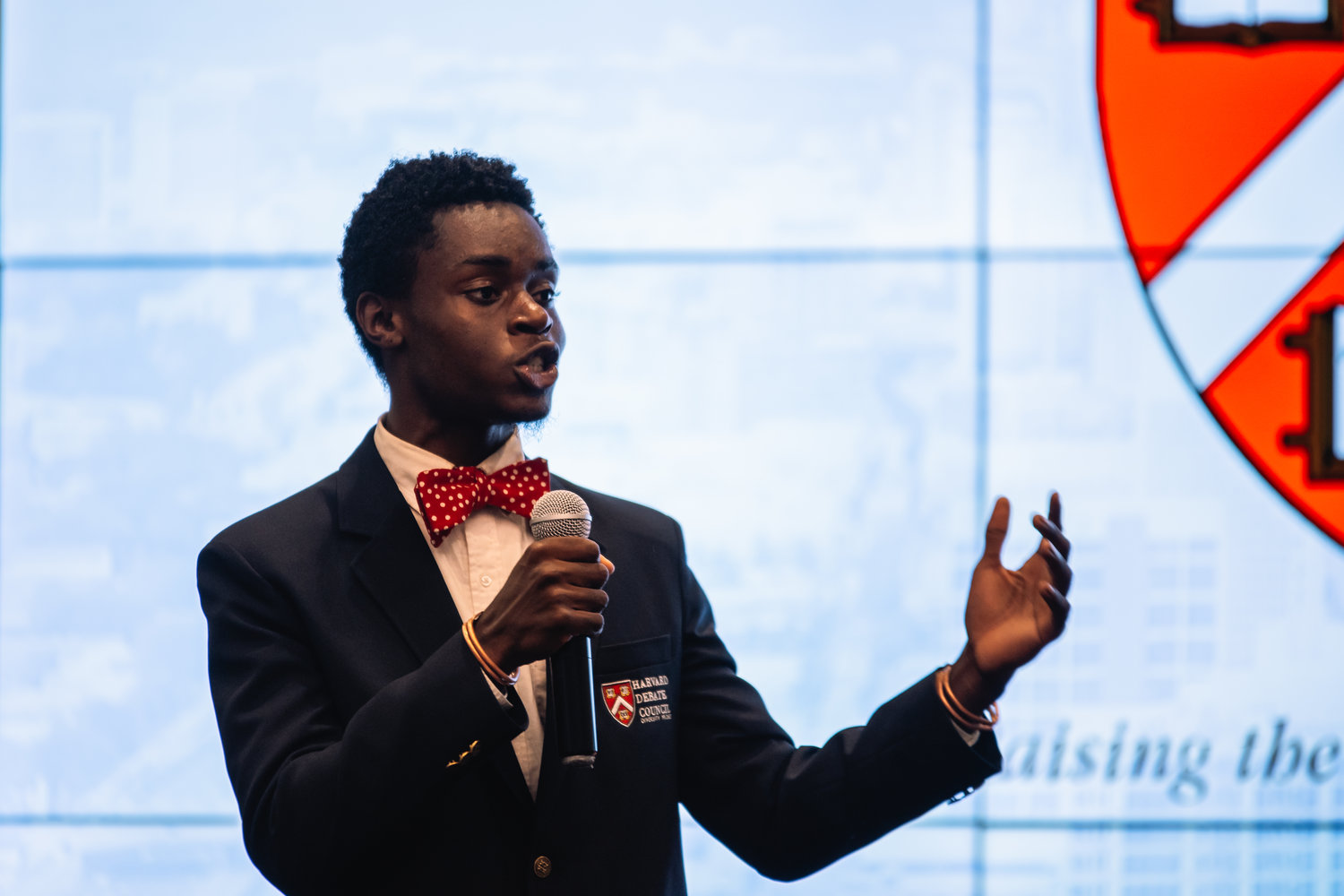 (Pictured: Osazi speaking at a Harvard Diversity Project fundraiser in Atlanta, GA.)