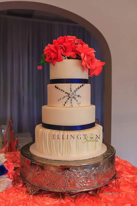 Event Loft cake - orange and royal blue.jpg