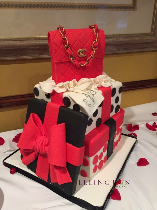 Flo_s 60th Birthday cake - red chanel.jpg