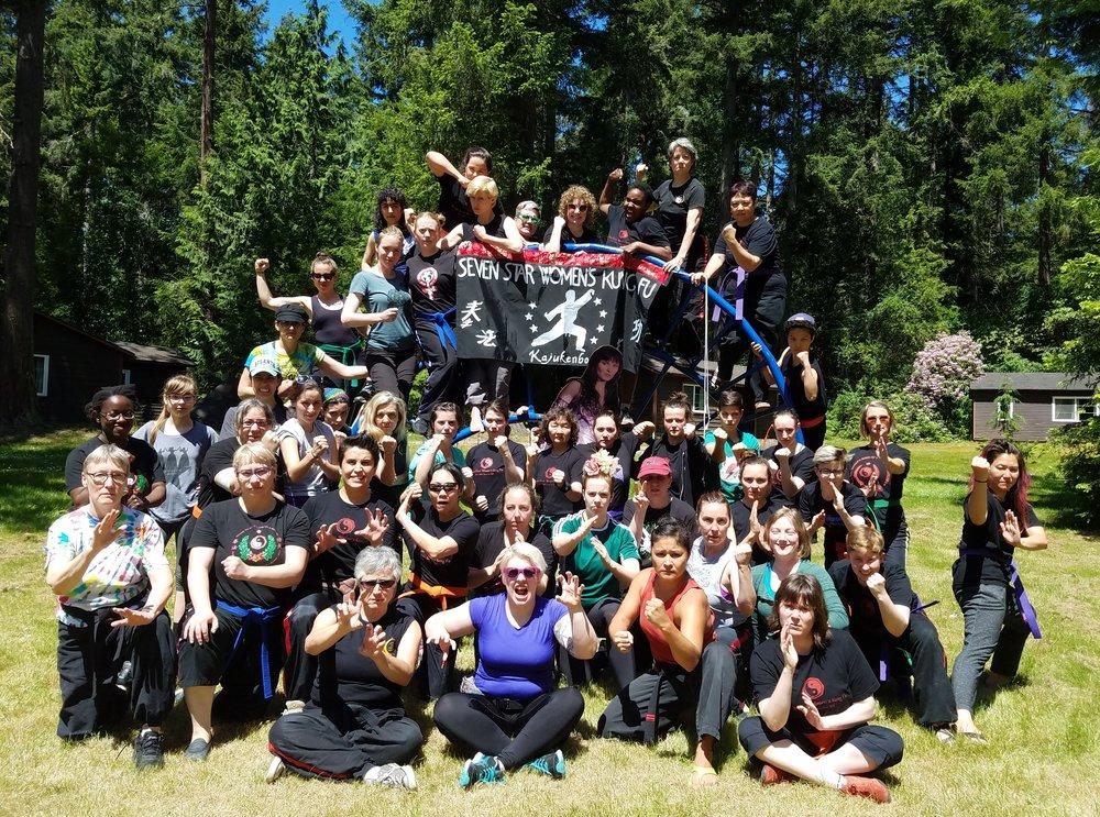 Seven Star Annual Retreat - June 1-2, 2019Camp BUrton, Vashon Island
