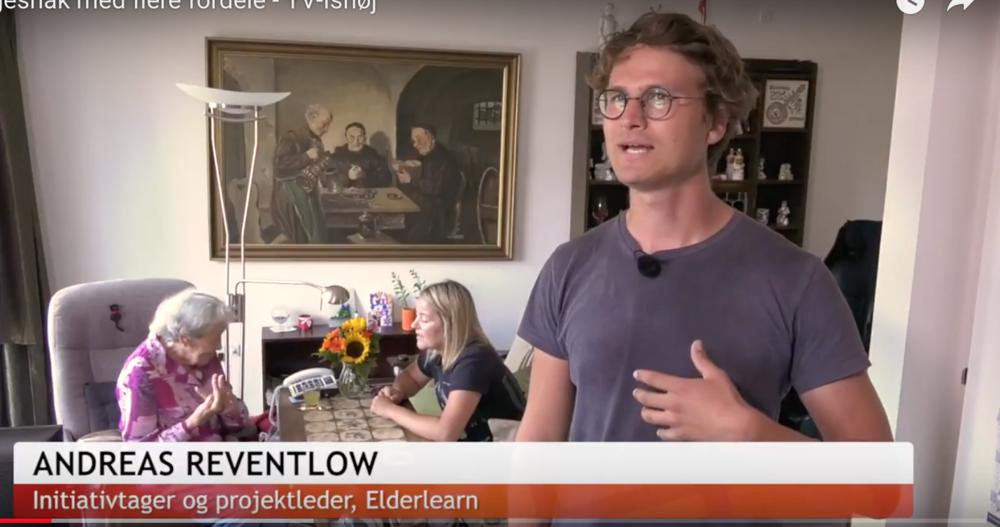 Elderlearn TV Ishøj Danmark Andreas Reventlow