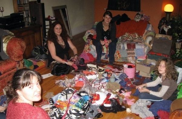 Doll-making parties at home