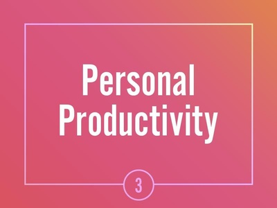 Personal productivity with Asana
