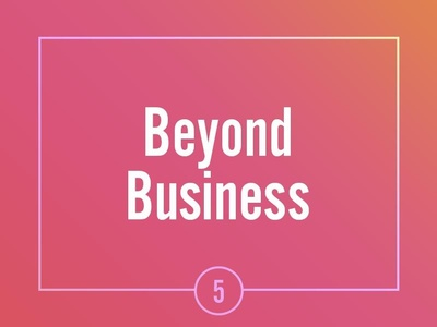 Asana Beyond Business
