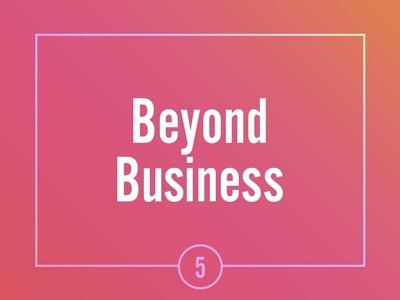 Asana Beyond Business