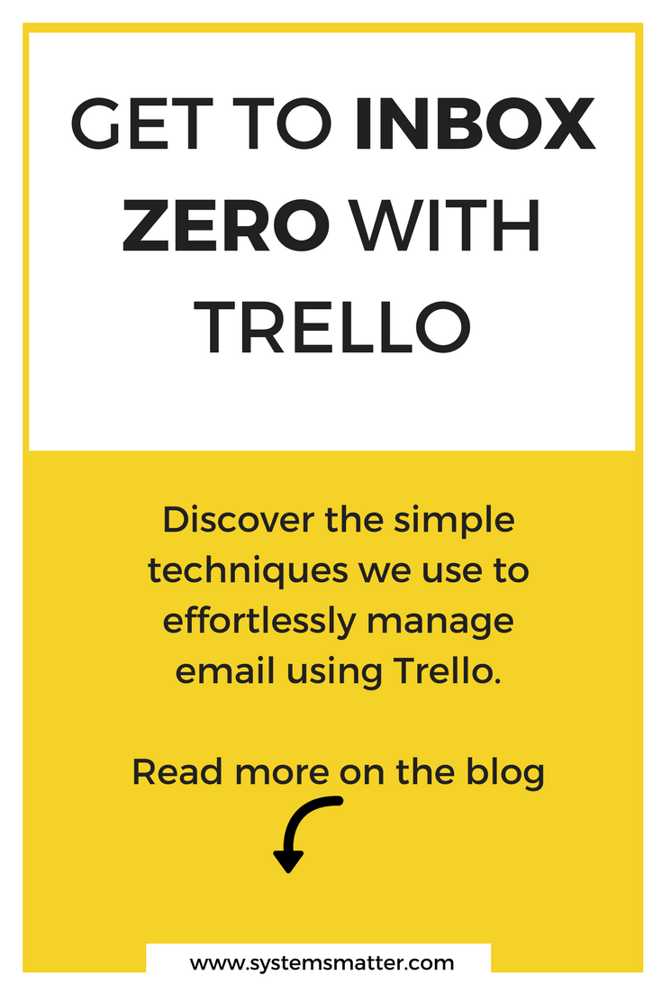Consistently reach Inbox Zero with Trello! Discover the simple techniques we use to effortlessly manage email in our business and personal lives using Trello.