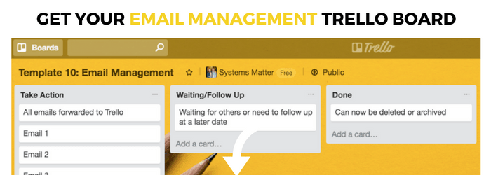 Email Management with Trello
