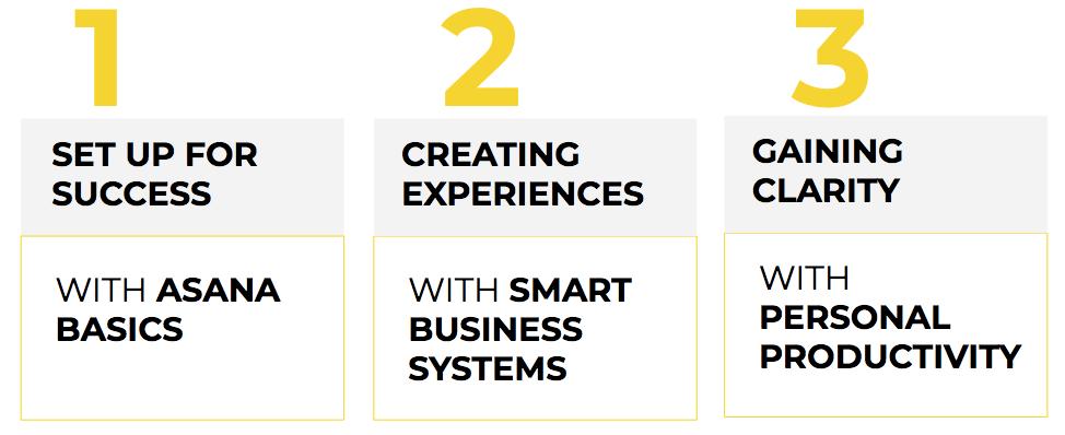 Asana for small business curriculum