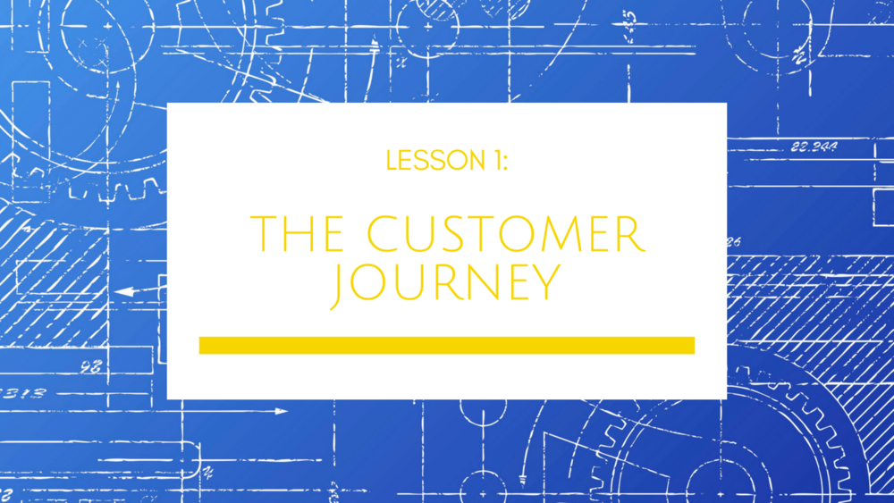 Small Business Growth Blueprint Lesson 1: The Customer Journey