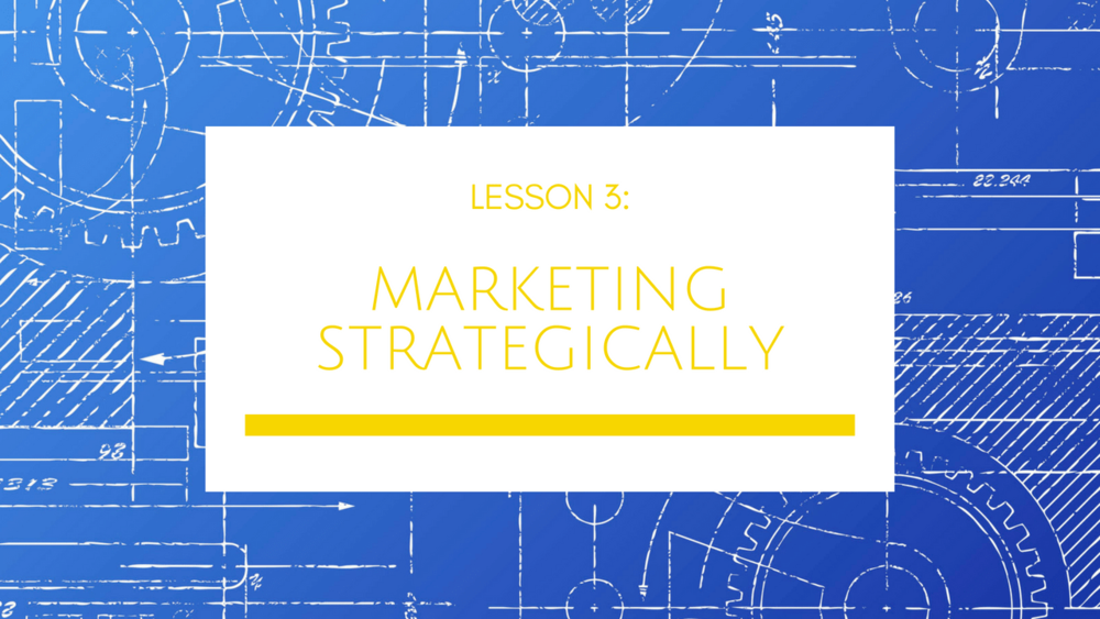 Small Business Growth Blueprint Lesson 3: Marketing Strategically