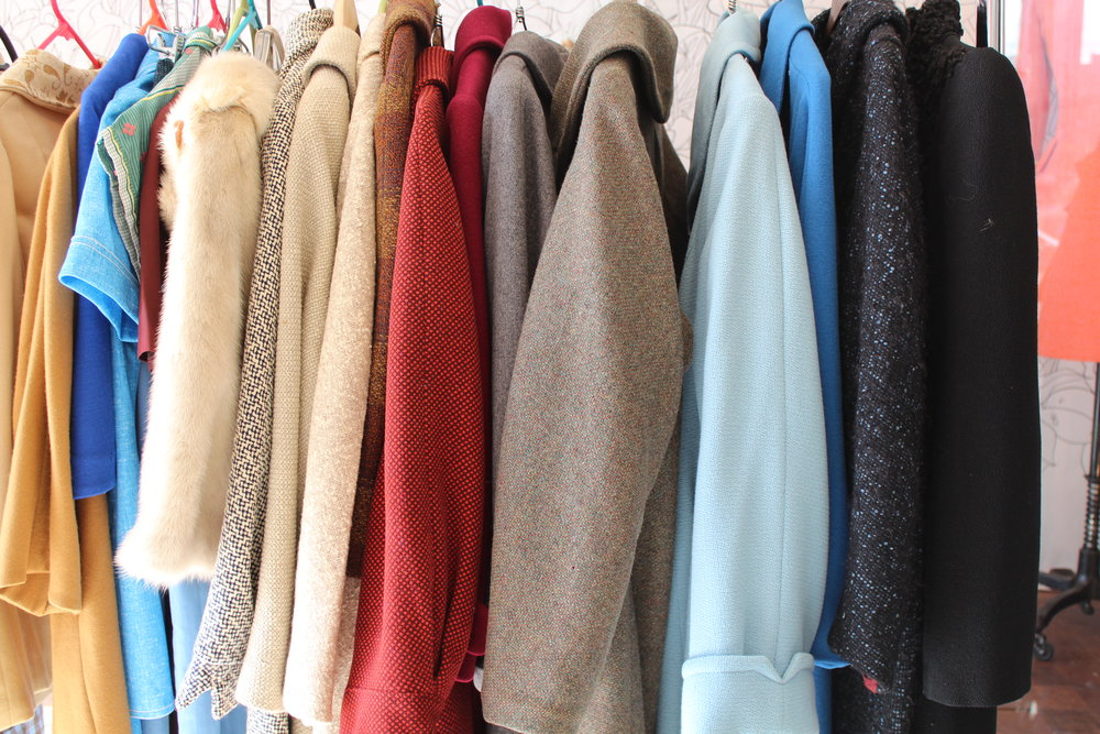 Vintage Coats at Civvies