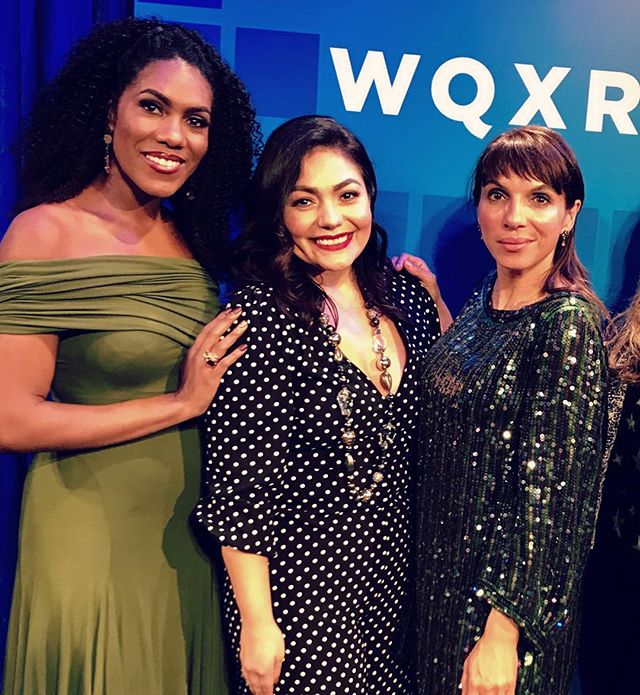 Last night at @wqxr_classical @greenespacenyc celebrating the music of @leonardbernsteinofficial and my @sony.classical release with @ailynperez1 and @jnaibmezzo 💐💐I love you ladies!! . . #music #songs #americanmusic #opera #singing #piano #solo #newalbum #leonardbernstein #forlenny #sonymusic #nyc #albumtour #musiclife #pianist #concert #sisters #friends #makingmusic #together #lifeincolor #musicislife #musicislove