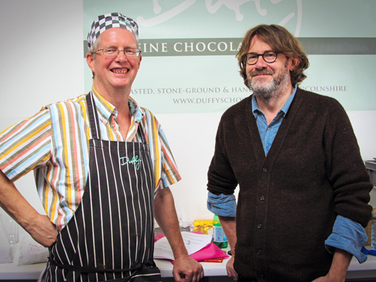 Duffy's Bean to Bar Chocolate with Nigel Slater