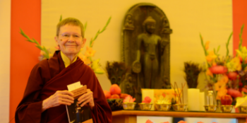 Pema Chodron teaching at Nyingma Summer Seminar in 2016