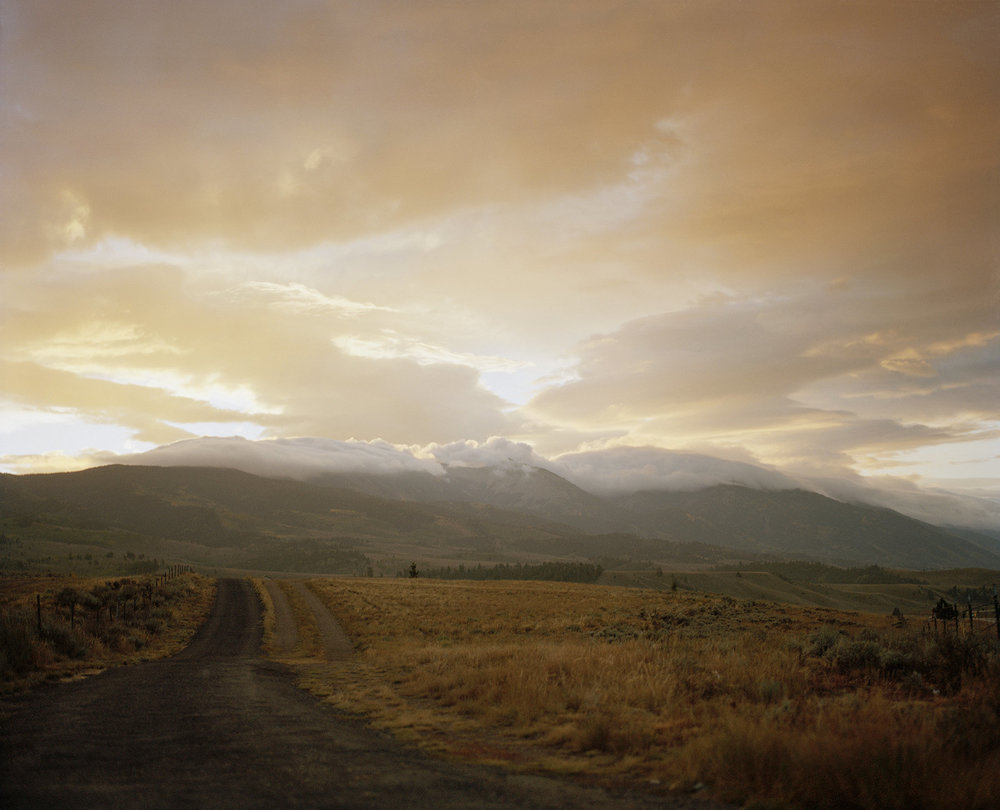 "Sasha Meyerowitz,     ""Early Morning,Poncha Pass""  , chromogenic print, 40"" X 50"""