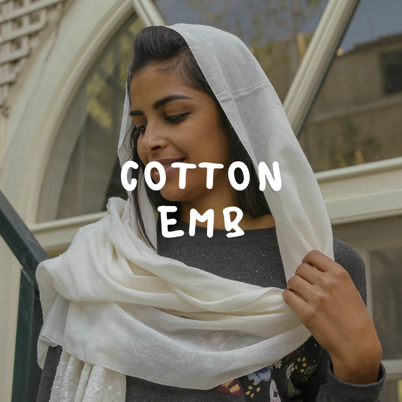 Cotton Embroidery Scarf online