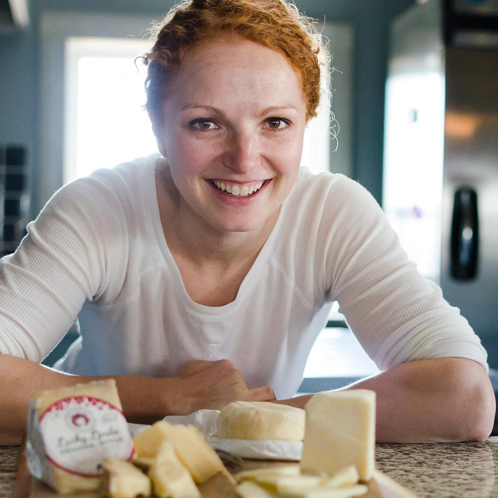 A Redhead's Cheese Dream > -